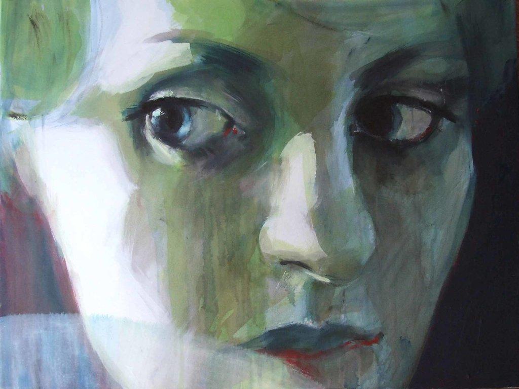 Akryl na plátne - Uhly pohladov