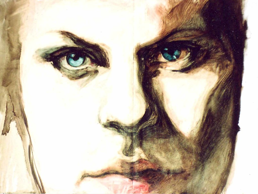 Portret I., 120x85, 2001