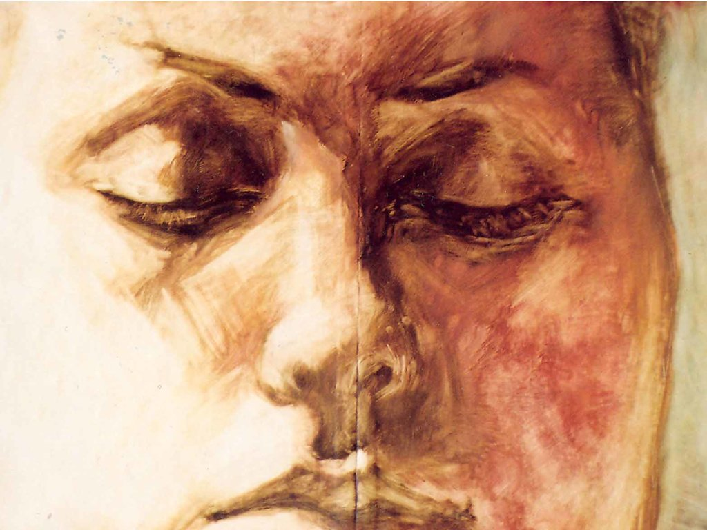 Portrét III., 120x85 cm, 2001